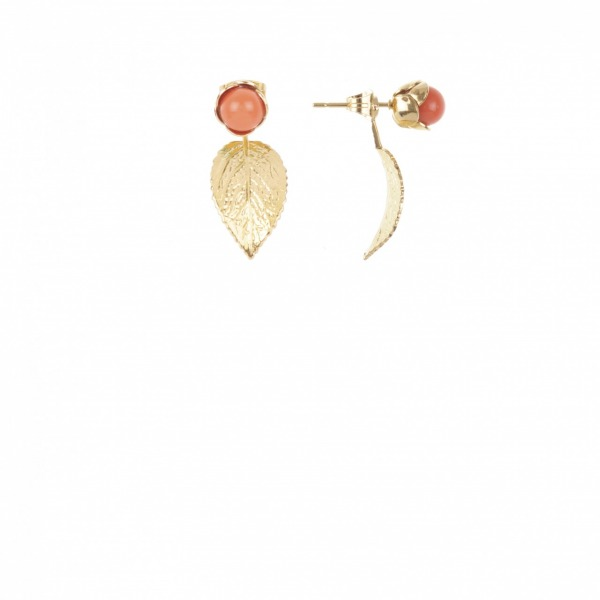 Boucles Earjacket Pivoine