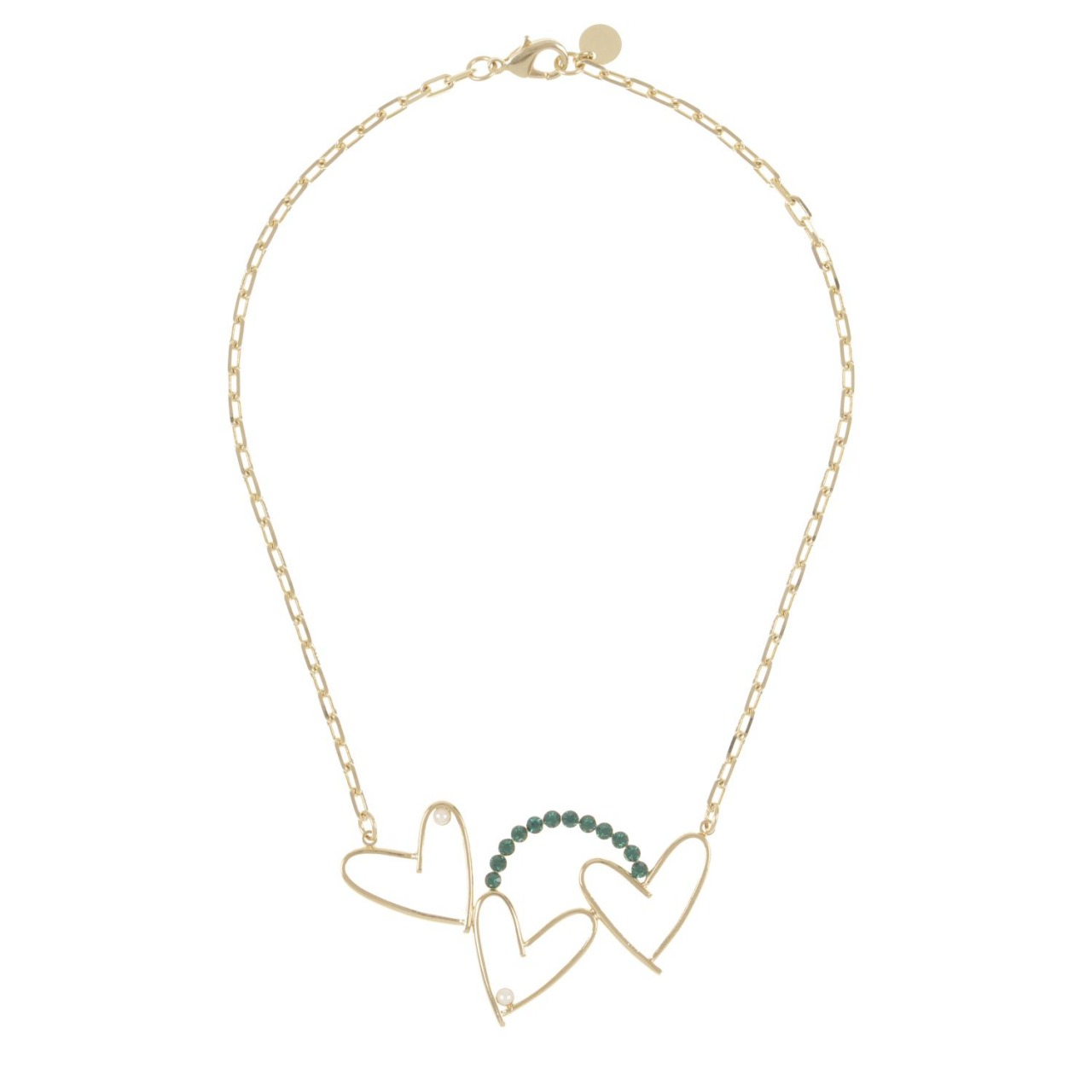 Collier Amore Triple Or